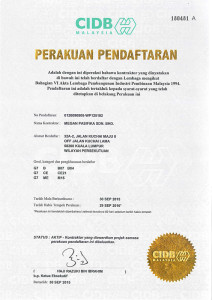 Malaysia Grade G7 Qualifications Contractor