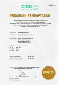 CIDB Malaysia - G7 Contractor (Kontraktor) Qualification