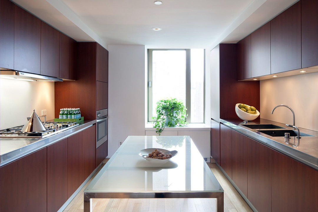 Melamine Contemporary Kitchen Cabinet Design