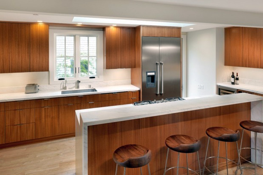 Melamine Contemporary Kitchen Cabinet Design