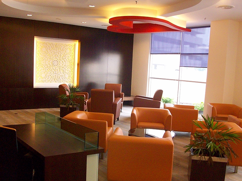 Interior design furniture supply on lobby for institut for Malaysia interior design company list