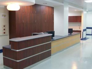 Services Counter Design & Build Institut Jantung Negara Kuala Lumpur