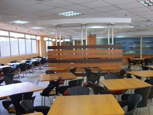 Canteen Interior Design Renovation Build & Furniture Supply Institut Jantung Negara