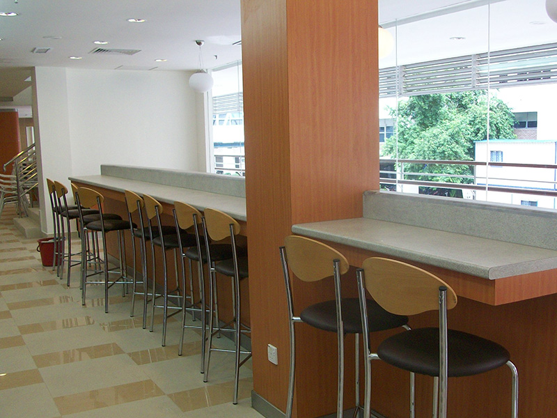 Interior Design Furniture Supply Institut Jantung Negara Kuala Lumpur - Canteen