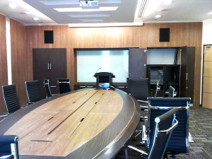 Meeting Room Design & Build, Office Furniture Supply For Institut Jantung Negara Kuala Lumpur, Malaysia
