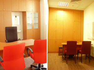 Custom Made Built-in Office Cabinet Institut Jantung Negara