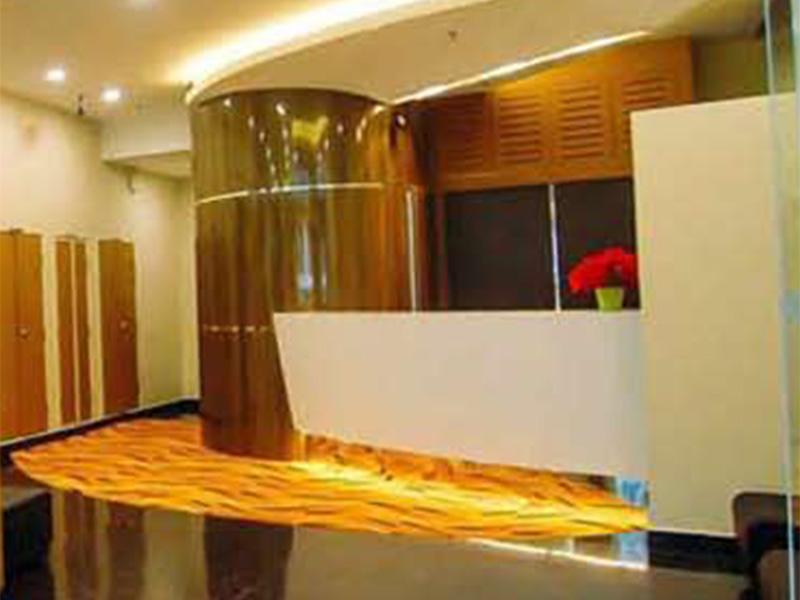 Reception counter design build citin hotel kuala lumpur for Design hotel kuala lumpur