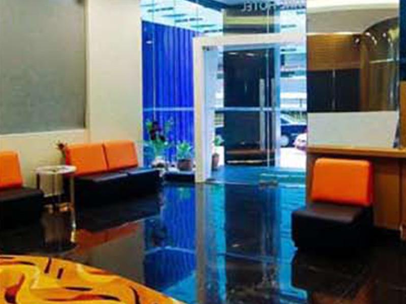 Interior Renovation Citin Hotel Kuala Lumpur - Hotel Lobby