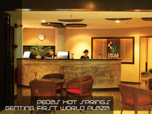 Customer Services Counter Pedas Hot Spring Genting