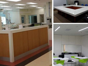 Services Counter, Meeting Room, Pantry Room Interior Design & Renovation Build Kuantan Medical Center