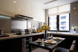 Contemporary Black & White Kitchen Design