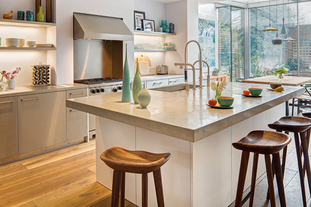 White Island Kitchen Design