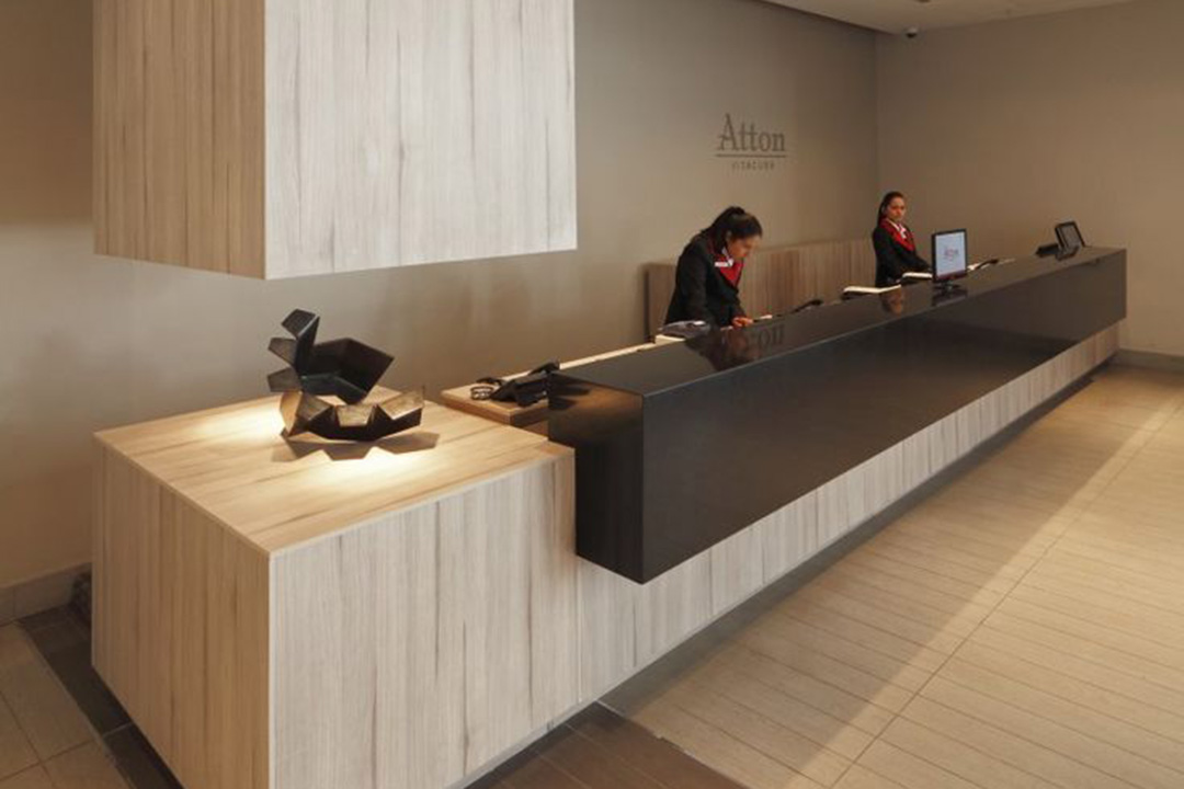 Reception Counter Design & Built