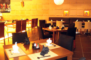 Japanese Restaurant Interior Design & Furniture Suppply
