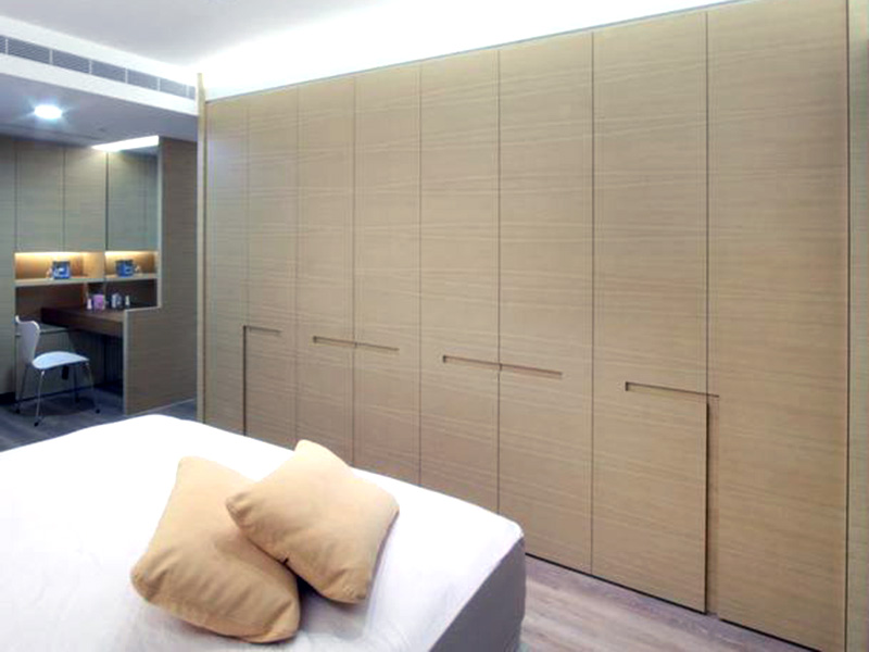 Swing Doors Bedroom Wardrobe Design