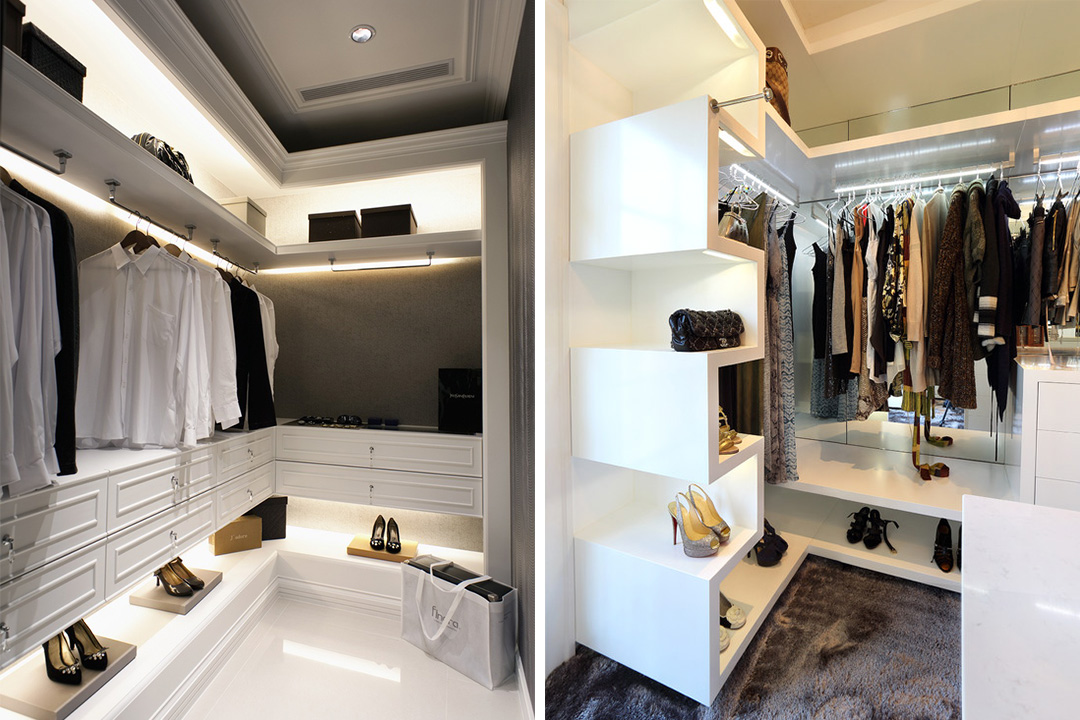 Custom Made Walk-in Concept Wardrobe 13