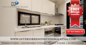Kitchen Cabinet Design + Interior Renovation Malaysia