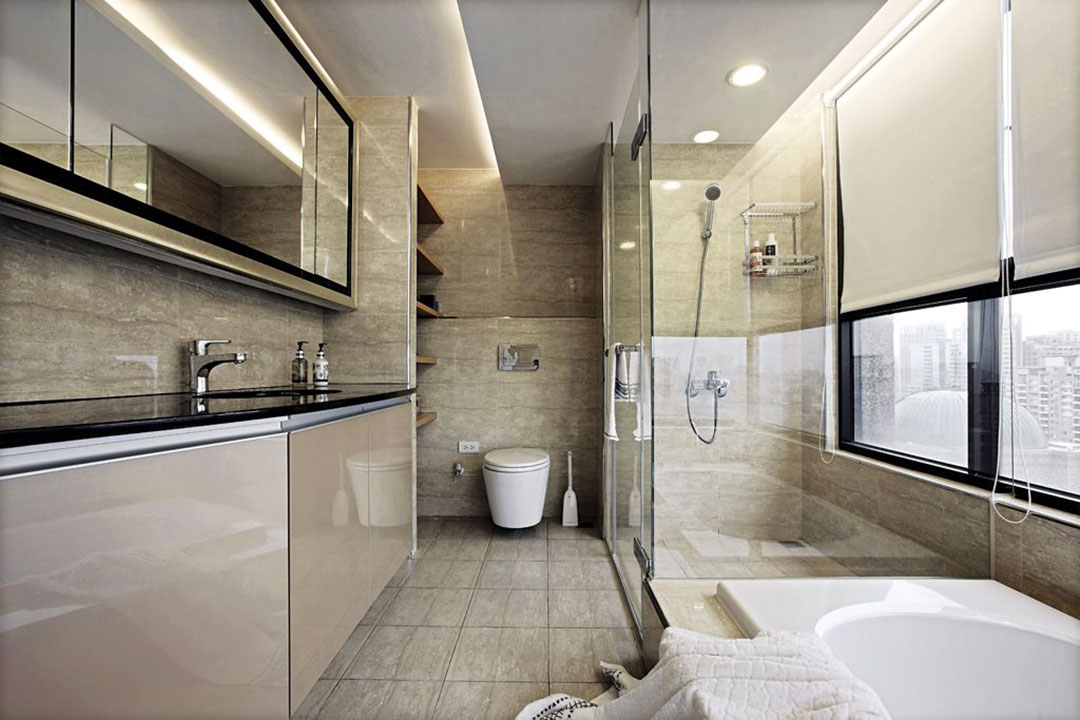 Bathroom interior design renovation services 05 for Bathroom design service