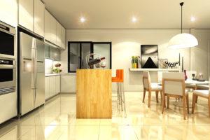 Dining Room Interior Decoration Design & Renovation Services 04